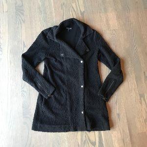 EILEEN FISHER Asymmetrical Cotton Jacket